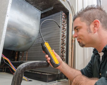 Refrigerant Gas Injection and Leak Test Systems